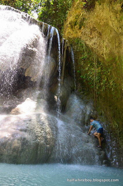 halfwhiteboy - aguinid falls, samboan, cebu 13
