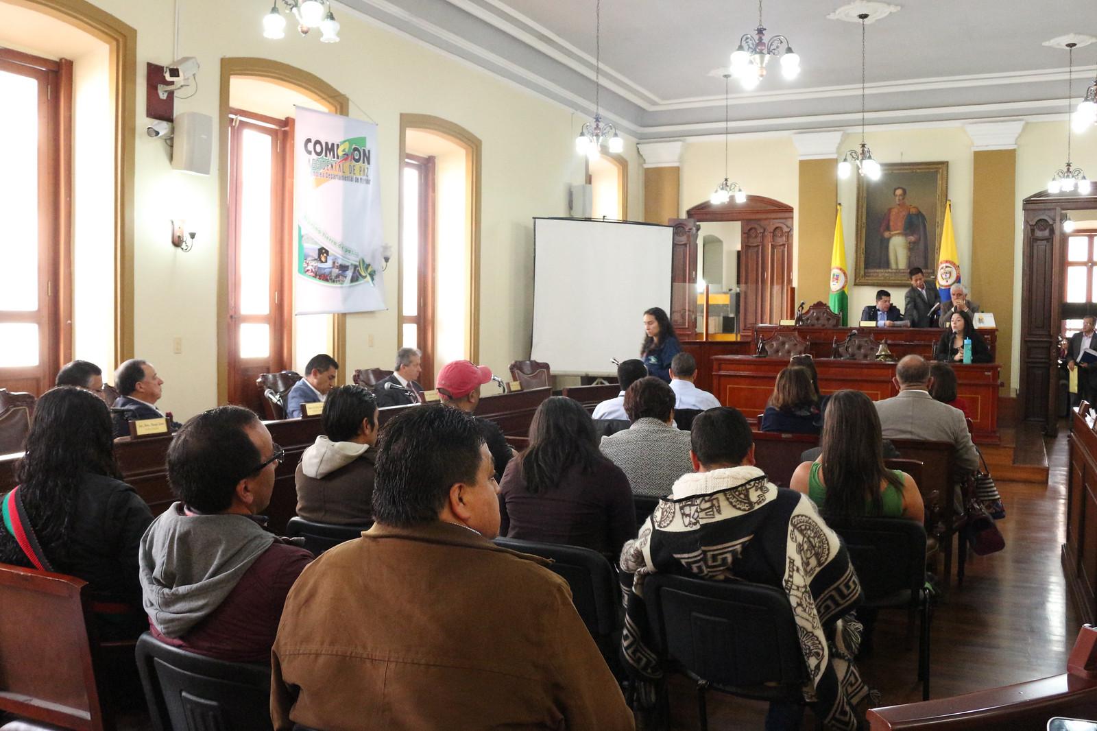 Informe de avance del proceso de consulta previa con resguardos indígenas Pastos y Quillacingas