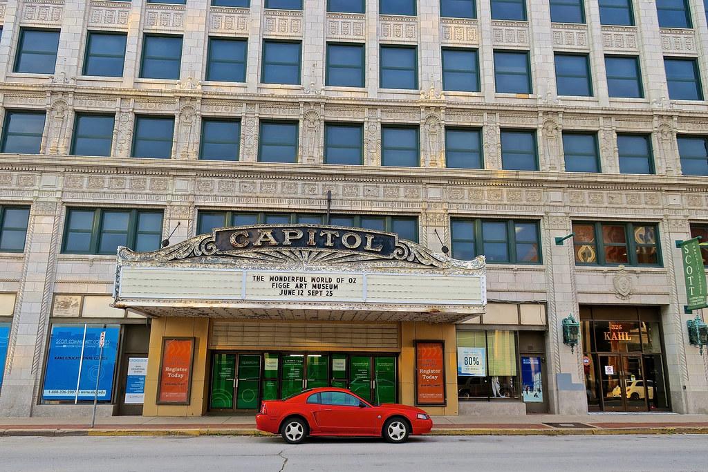 capitol theatre davenport ia capital theatre 330 west 3 flickr