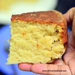 Eggless Pressure cooker Vanilla sponge cake