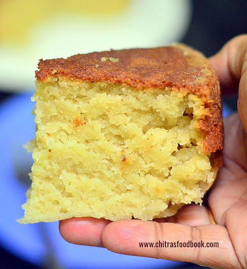 How to make eggless cake in pressure cooker