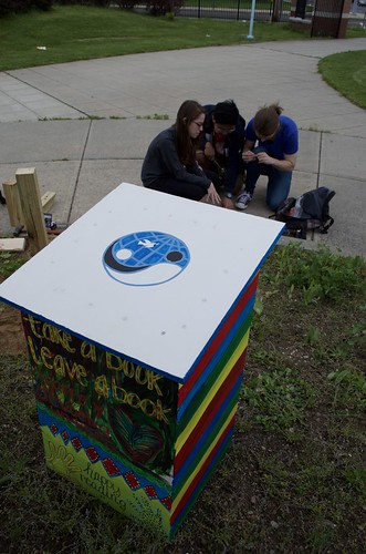 Engineers Donate Mini-Library