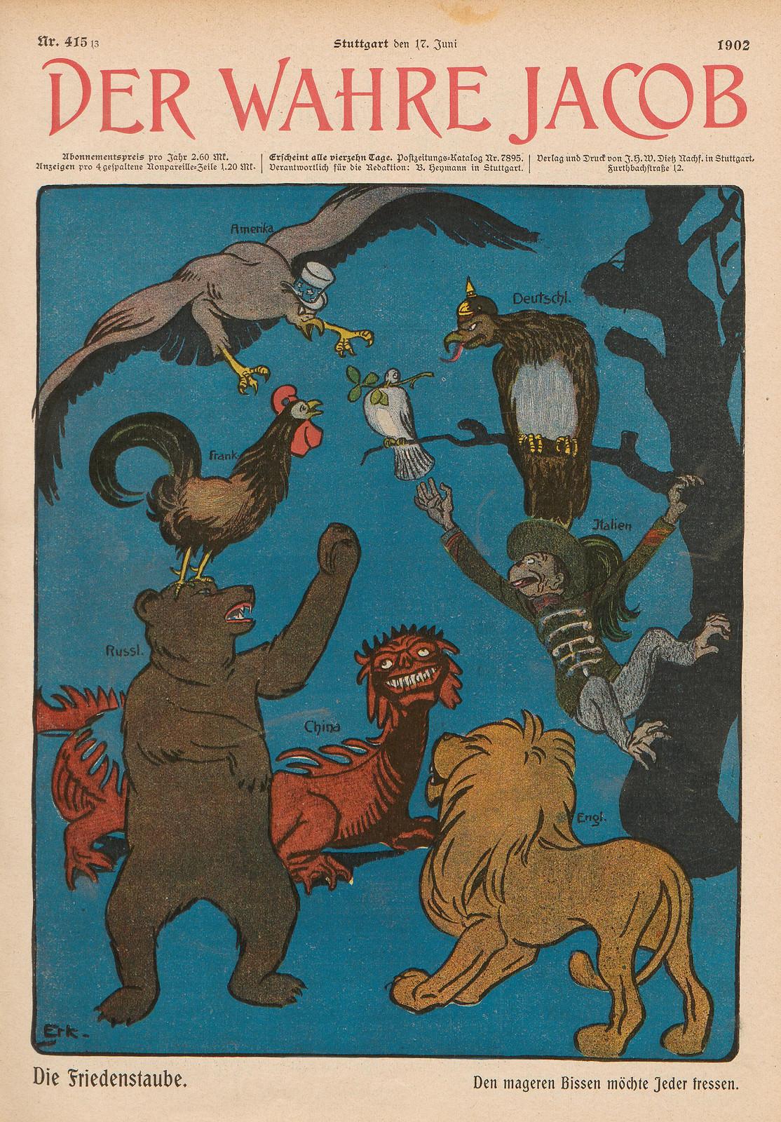 Emil Erk - The Peace Dove, 1902