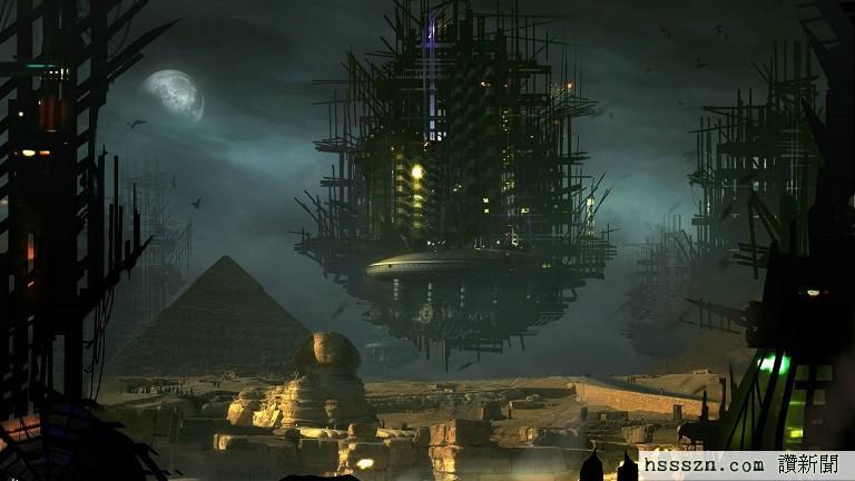 alien-spaceship-egypt-pyramid