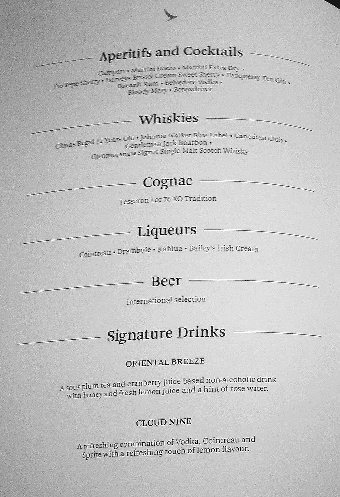Aperitifs and Cocktails