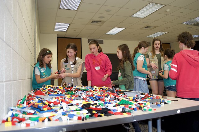 SOE Girl Scout STEM Day