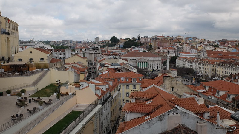 Vistas de Lisboa desde un