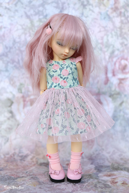 yumistudio_Pink_green_dress_3