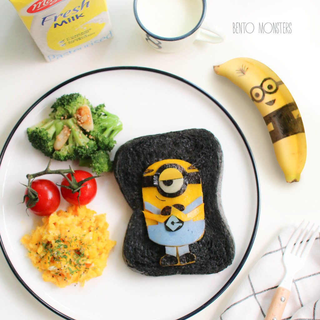Despicable Me 3 Themed Breakfast Bento Monsters