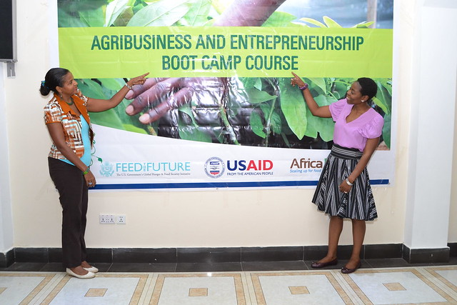 Agribusiness and Entrepreneurship Training of Trainers short course, 29th March to 1st April, Accra-Ghana