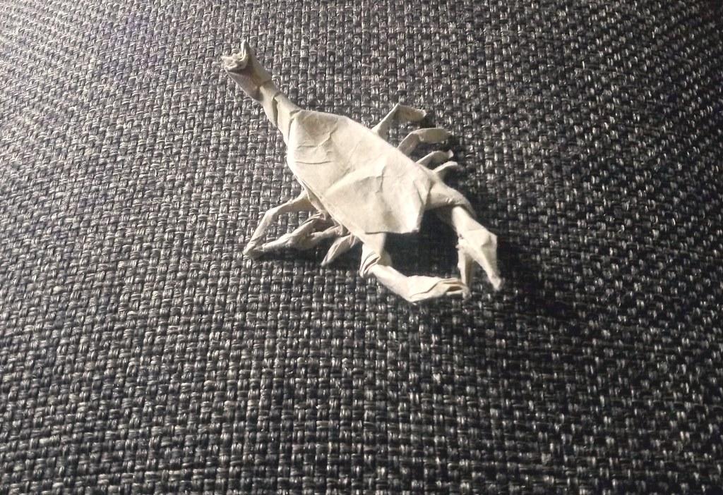 Origami Scorpion By Robert J Lang