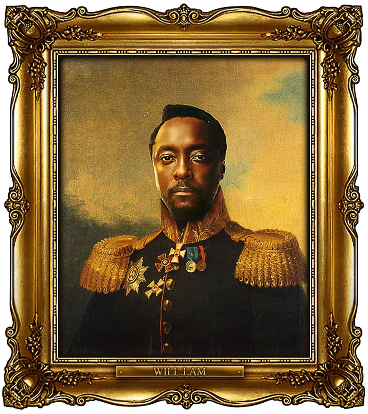 Artist Turns Famous Actors Into Russian Generals - William James Adams