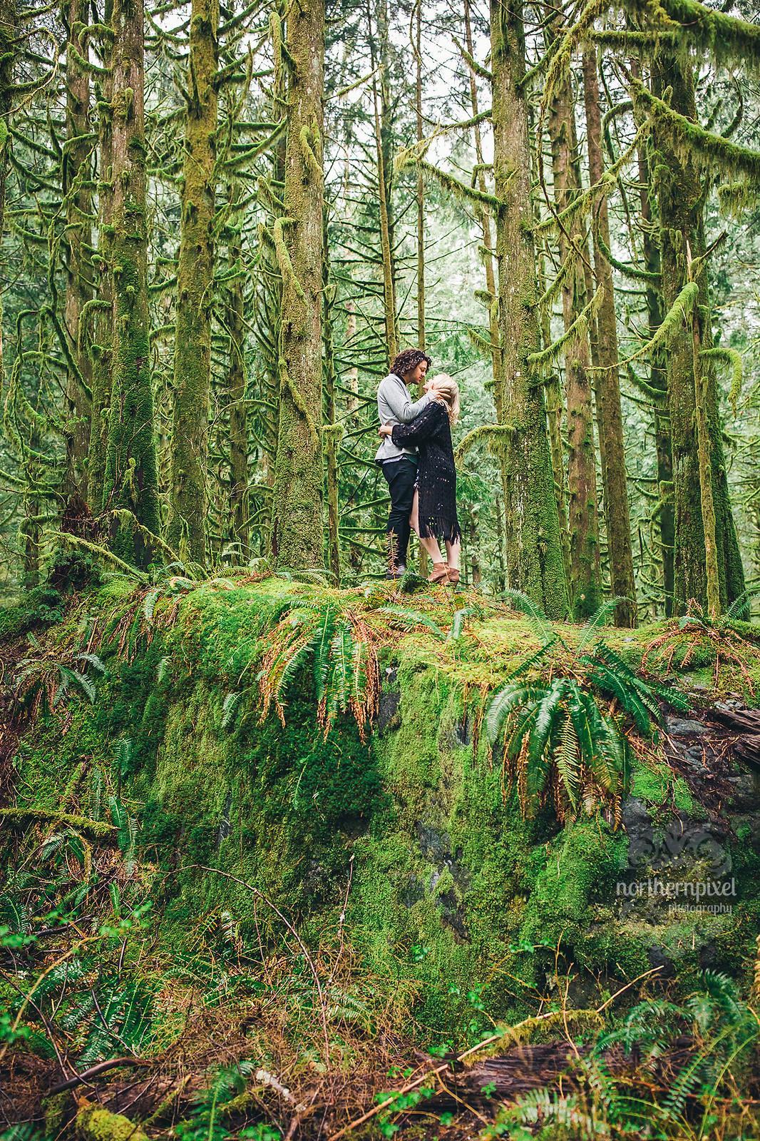Engagement Photography Session Elopement British Columbia Northern Pixel