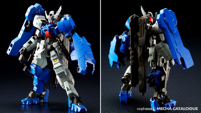 HG IBO Gundam Astaroth Rinascimento - Colored Prototype Shots