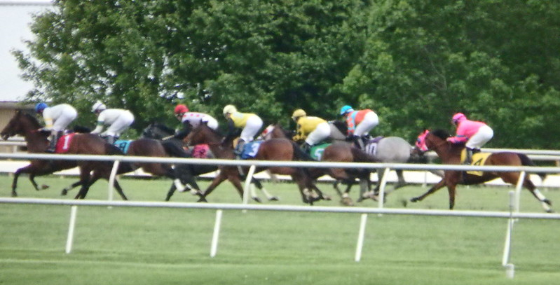 Last race of Laurel Park's 2017 winter meeting on May 7, 2017.