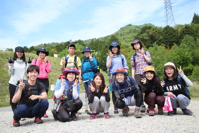 月一ハイキング「矢筈山」 (1)