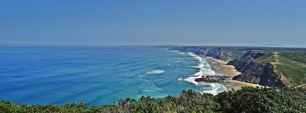 Costa Vicentina desde Torre de Aspa (Praia do Castelejo / Praia do Cordama)