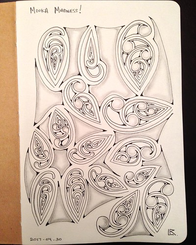 Sketchbook explorations - Mooka