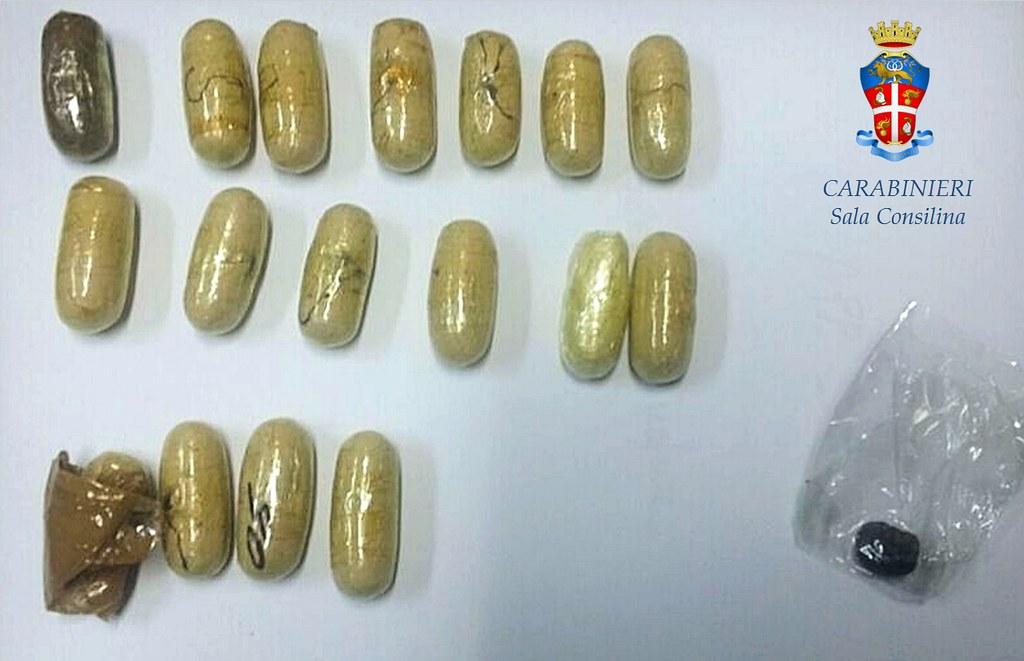 Arrestato un 30enne termolese: beccato con mezzo chilo di eroina