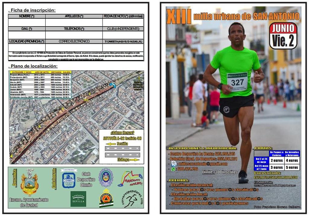 AionSur 34304220562_01ea35cbed_b_d La XIII Milla de San Antonio, el próximo 2 de junio Atletismo Deportes Sin categoría