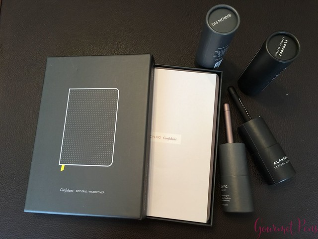 Review @BaronFig Confidant Notebook & Squire Rollerball Pens 2