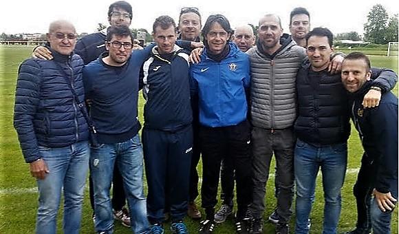 Allenatori della Virtus Verona a scuola da...Pippo Inzaghi