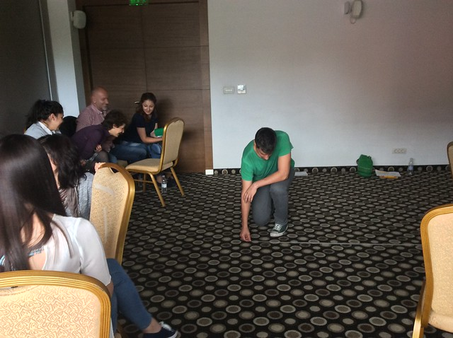 EUBULLY drama workshop during yMIND meeting