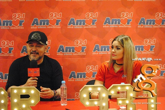 Rueda de prensa con Fato - Concierto amor para ti - Grupo ACIR - 93.1 Amor - Guadalajara, Jalisco, México. (mayo - 2017)