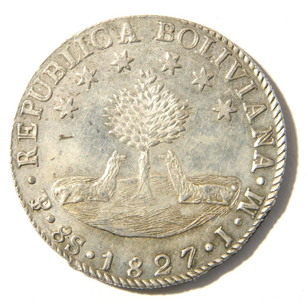 8 Soles Bolivia 1827 34399689572_07a790b24c_b