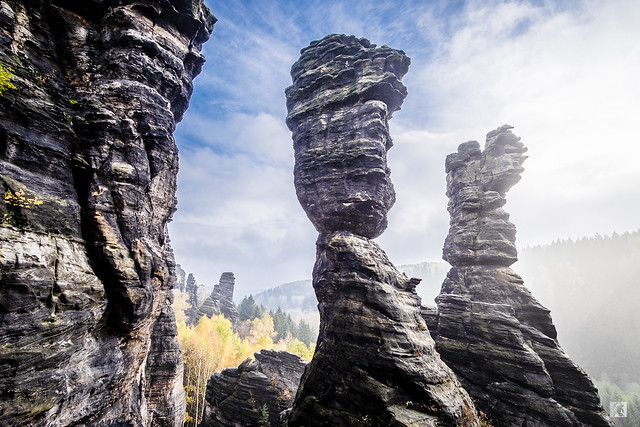 Herkulessäulen - Bielatal - Elbsandsteingebirge