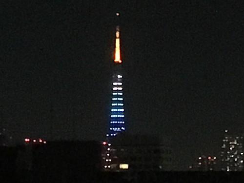 東京タワーのライトアップ 2017.5.5