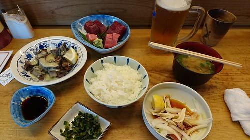 竹原・マグロ料理