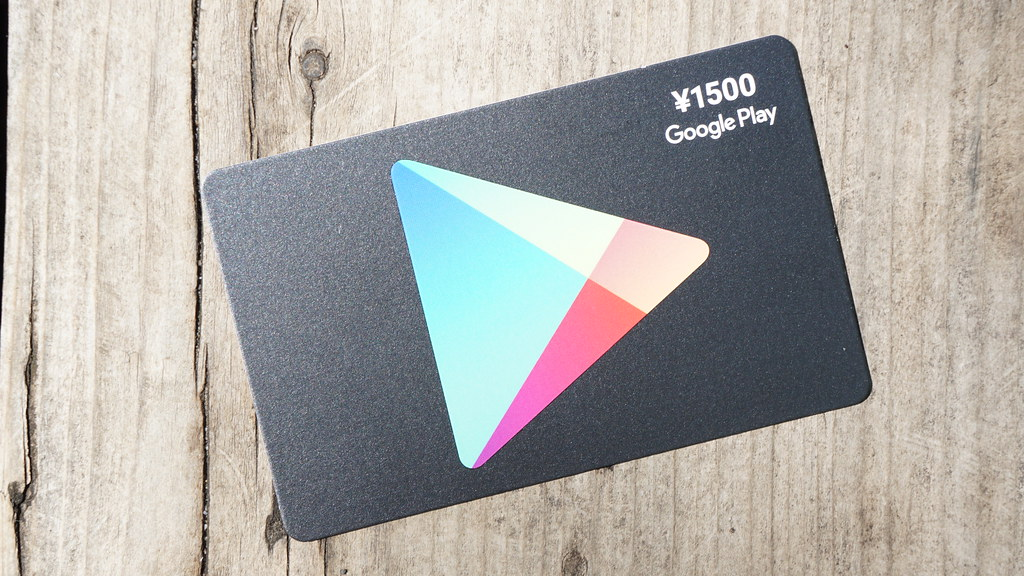 Google Playギフトカードとは?