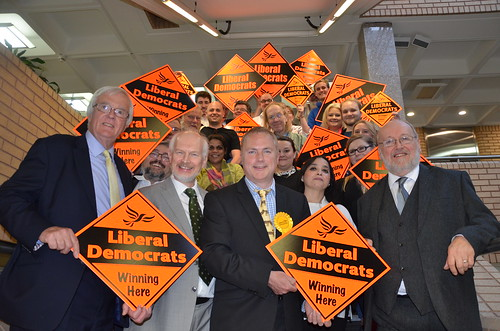 Gateshead South Tyneside Lib Dem election launch May 17