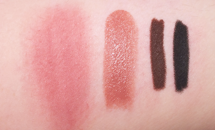 the new mark by avon swatches