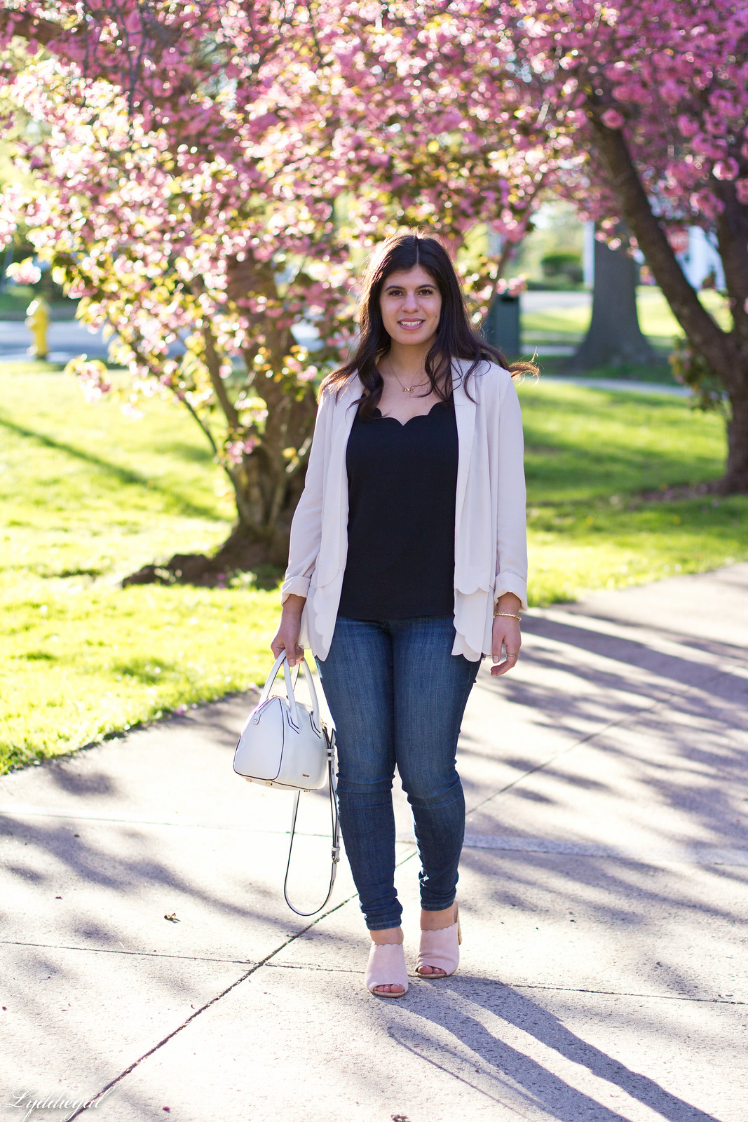 scalloped blazer, camisole, mules, spring outfit-4.jpg