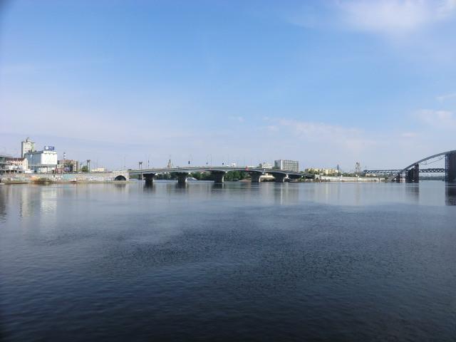 Kyiv boat trip