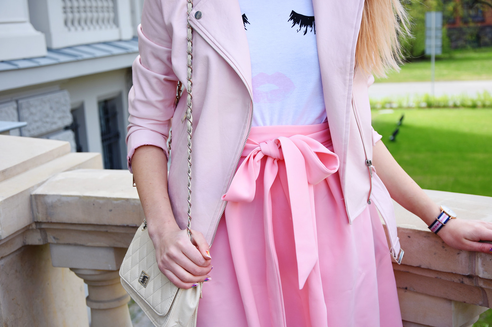 Spring outfit details