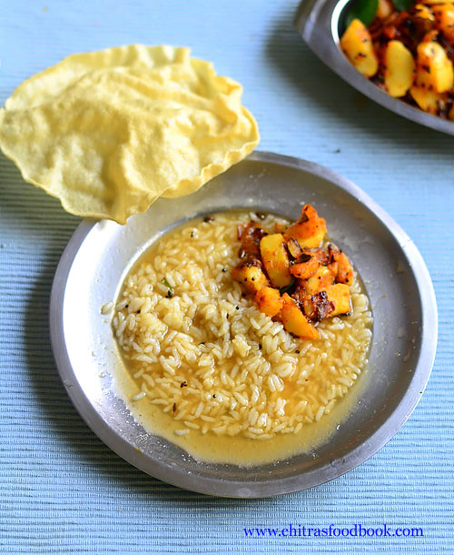 Easy potato curry recipe