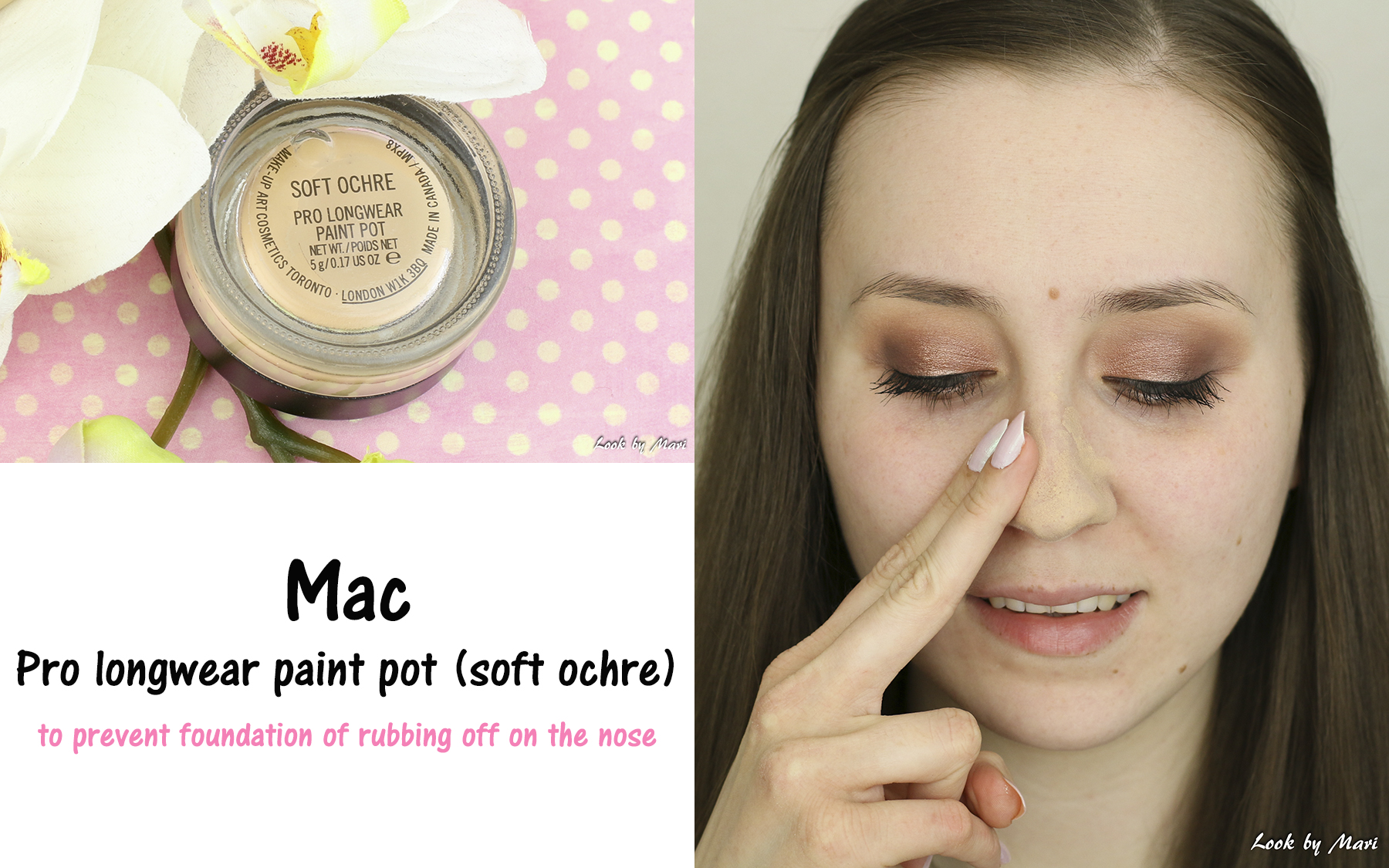 7 mac pro longwear paint pot soft ochre review for oily combination skin kokemuksia