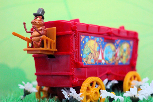 "Mattel ""A Bugs Life"" Circus Battle Wagon Playset'"