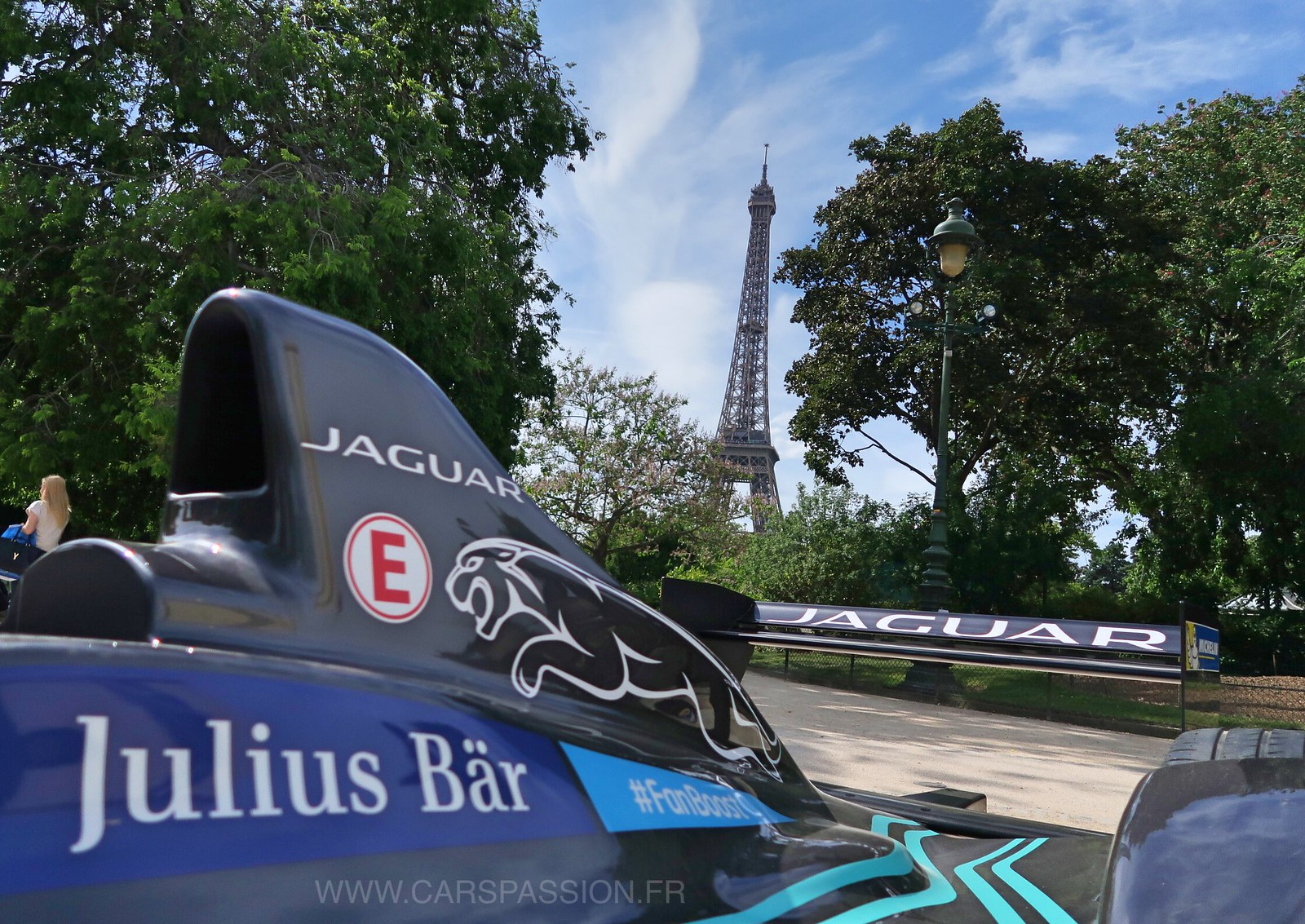 Formule E Jaguar Racing Panasonic Paris 2017