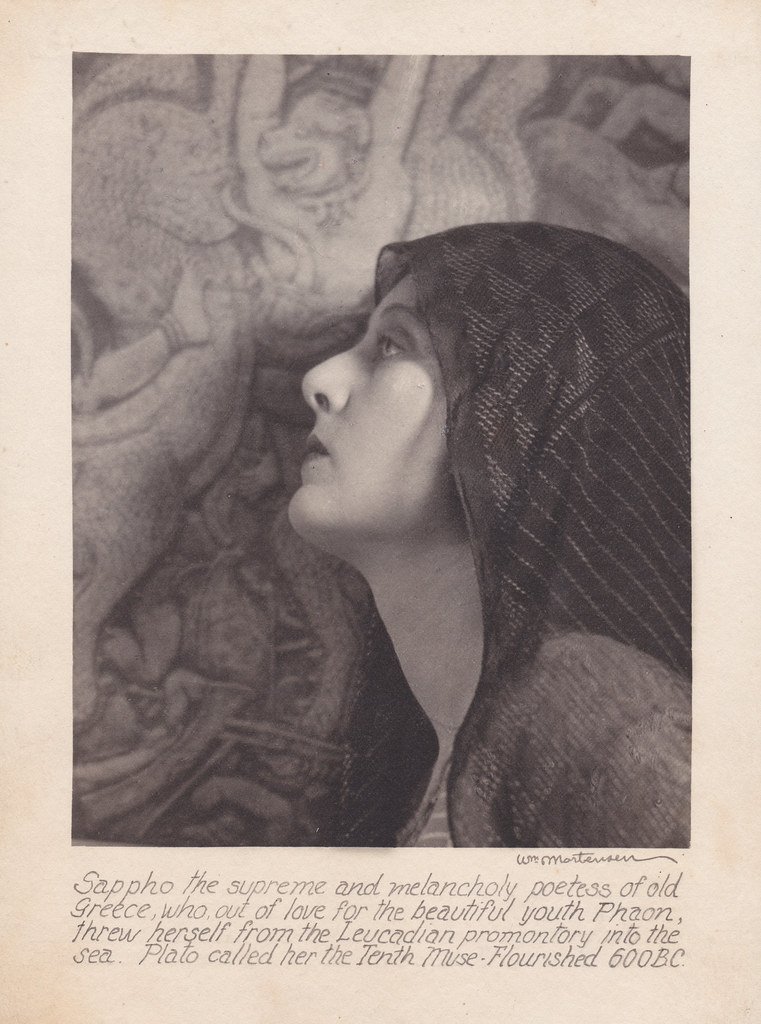 William Mortensen - Sappho, 1926