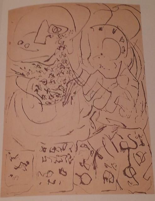 Una de las últimas composiciones de Pollock
