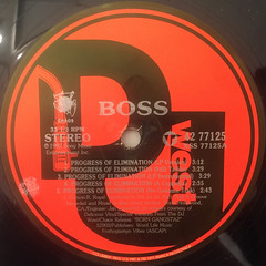 BOSS:PROGRESS OF ELIMINATION(LABEL SIDE-A)