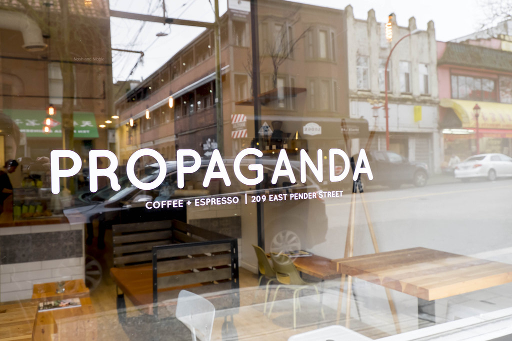 Outside Propaganda Coffee