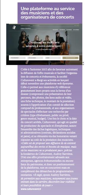 Culturevent La Scène Décembre 2016
