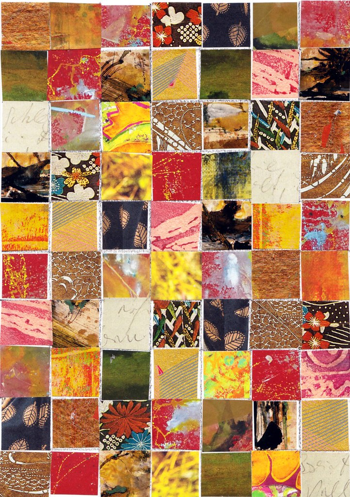 Collage small squares 3
