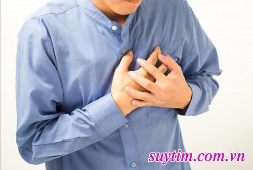 Đau tim, đắt thắt ngực trái thường là biểu hiện của bệnh động mạch vành