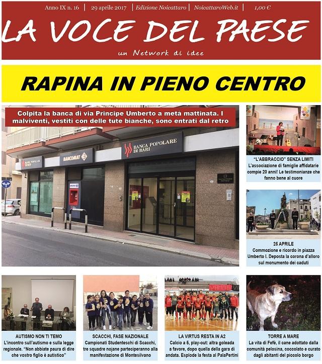 Noicattaro. Prima pagina n. 16-2017 intero